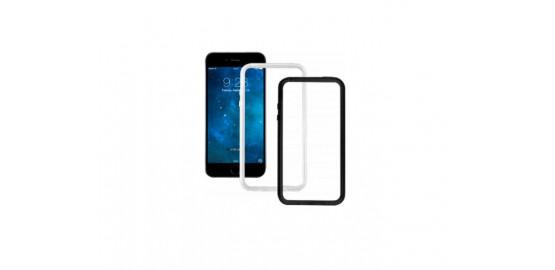 Pack de deux bumpers semi-rigides pour iPhone 6/6S