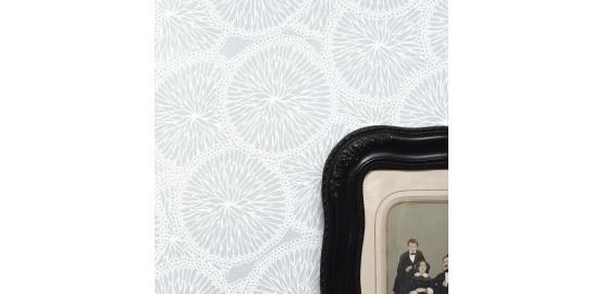 Papier peint gris 48x300 cm