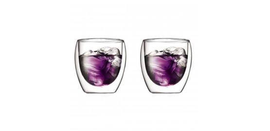 Set de 2 verres Pavina 0,25 l
