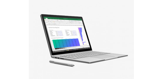 Microsoft Surface Book 8Go, SSD 256Go reconditionné grade A+