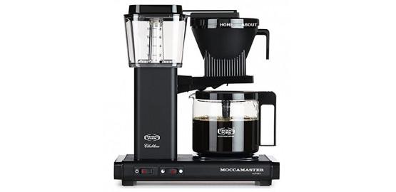Moccamaster KBG741-AO Noir mat Cafetière filtre 1,25 L