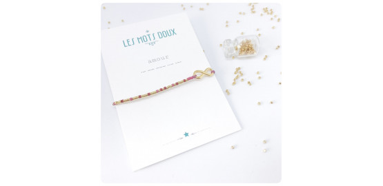 "Bracelet ""Amour"" en morse"