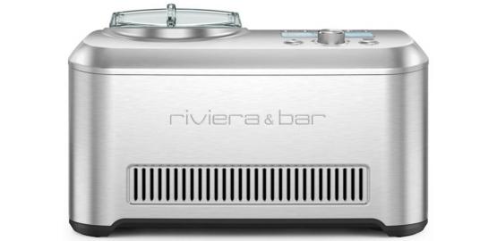 Sorbetière Riviera Et Bar Kit Virtuo Gelato