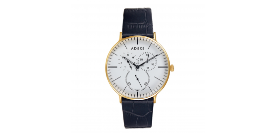 Montre Grande They Noir et or