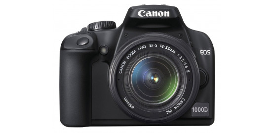 Appareil Photo Reflex CANON EOS1000D + objectif 18-55 IFS