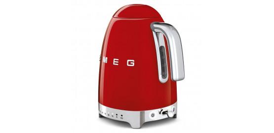 SMEG bouilloire 1,7L rouge klf04rdeu