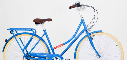 Le vélo Brigitte pour femme By Cycle Costin